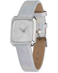 Miss Selfridge - Holographic Strap Watch - Lyst