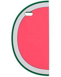 Miss Selfridge Watermelon Phone Case - Green