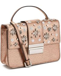 Miss Selfridge Structured Embellished Cross Body Bag - Multicolour