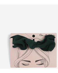 Miss Selfridge Emerald Knot Headband - Green