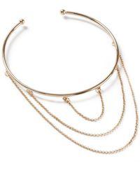 Miss Selfridge - Gradual Chain Arm Cuff - Lyst