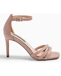 8825212987b Sadie 3 Strap Mid Height Sandals