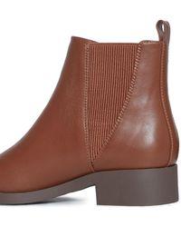 Miss Selfridge Bronte Tan Boots - Brown