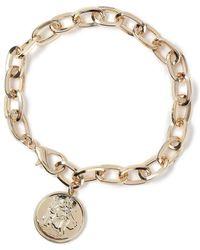 Miss Selfridge - Chunky Chain Bracelet - Lyst