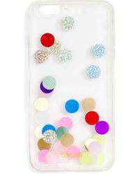 Miss Selfridge Confetti Iphone Case 6 - White