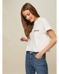Miss Selfridge - Petite Queen Bee T-shirt - Lyst