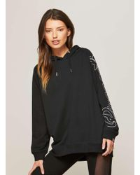 Miss Selfridge | Pineapple Longline Oversized Hoodie | Lyst