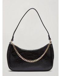 Miss Selfridge Black Aaliyah Shoulder Bag