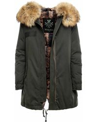 Mr & Mrs Italy Xco0117 Parka A-Line - Verde