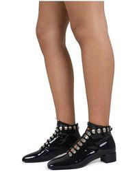 Dior Bottines à lacets - Noir