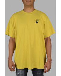 Off-White c/o Virgil Abloh Oversize T-Shirt - Gelb