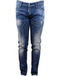 DSquared² Slim Jean - Bleu