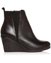 Moda In Pelle Ameli Black Leather