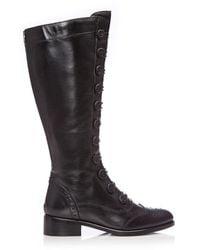 Moda In Pelle Sidnee Black Leather