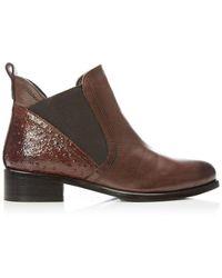 Moda In Pelle Key Tan Leather - Brown