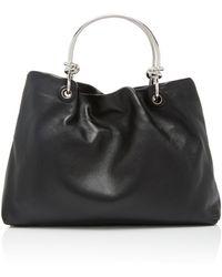 Jil Sander - Knot-detailed Leather Bag - Lyst