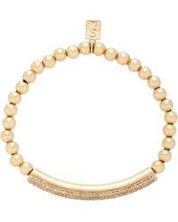 Sheryl Lowe 14k Gold And Diamond Bracelet - Metallic