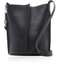 Acne Studios Market Leather Bucket Bag - Black
