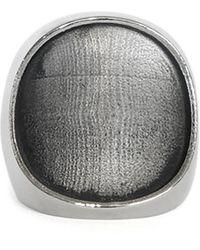 Peter Do Silver-tone Empty Ring - Metallic