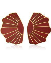 Monica Sordo - Mullu Earflare Earrings - Lyst