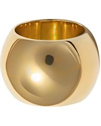 Uncommon Matters - Semibreve Chunky Vermeil Ring - Lyst