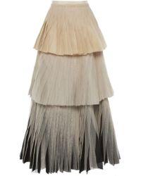 Maison Rabih Kayrouz - Tiered Tulle Skirt - Lyst