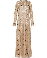 Macgraw Soiree Tulle Dress - Metallic