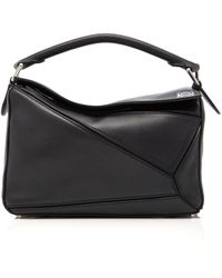 Loewe Small Puzzle Bag - Black