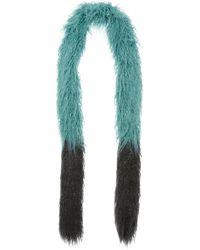 Anna Sui - Mongolian Faux Fur Scarf - Lyst
