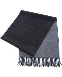 Begg & Co - Large Reversible Cashmere Scarf - Lyst