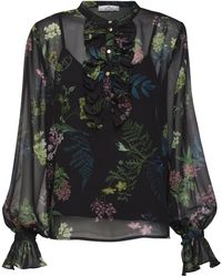 We Are Kindred Frankie Pleated Blouse - Multicolor