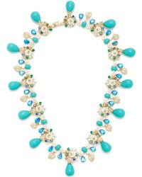 Anabela Chan - Palm Paradise Turquoise Necklace - Lyst