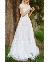 Costarellos Bridal - Fit & Flare Tulle Dress - Lyst