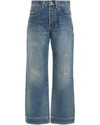 Victoria Beckham Victoria Rigid High-waist Jeans - Blue