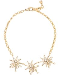 Lulu Frost - Nova Star Gold-plated Brass And Glass Pearl Necklace - Lyst