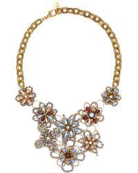 Erickson Beamon | Wild Flower Crystal Necklace | Lyst