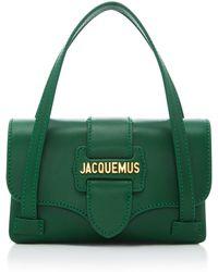 Jacquemus Le Minho Leather Mini Satchel Bag - Green
