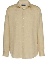 Frescobol Carioca - Linen Button-up Shirt - Lyst