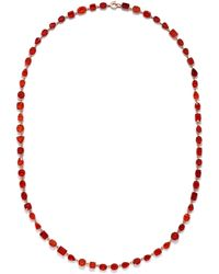 Irene Neuwirth One Of A Kind Gemmy Gem Necklace - Red