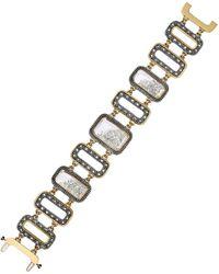 Moritz Glik Diamond Kaleidoscope Shaker Bracelet - Black