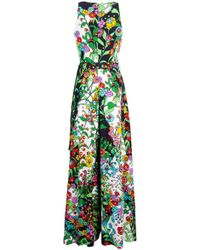LaDoubleJ - Supersuit Printed Jumpsuit - Lyst