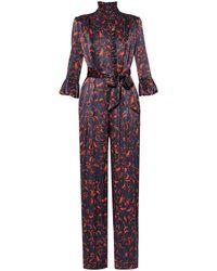 Erdem Sebestian Cotton-silk Jumpsuit - Multicolour