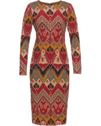 Lena Hoschek - Artisan Patterned Cotton Dress - Lyst