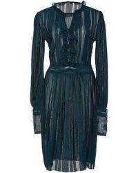 Talitha - Diamond Knit Dress - Lyst
