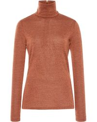 Manish Arora - Embroidered Polo Neck Top - Lyst