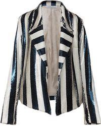 Kalmanovich - Sequin Striped Jacket - Lyst
