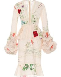 Johanna Ortiz Vittoria Cotton Eyelet Dress - White