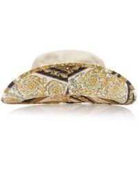Versace - Printed Bucket Hat - Lyst