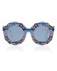 Rianna + Nina - X Andy Wolf Carnaval Lambada Sunglasses - Lyst