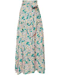 Banjanan - Discovery Printed Cotton Skirt - Lyst